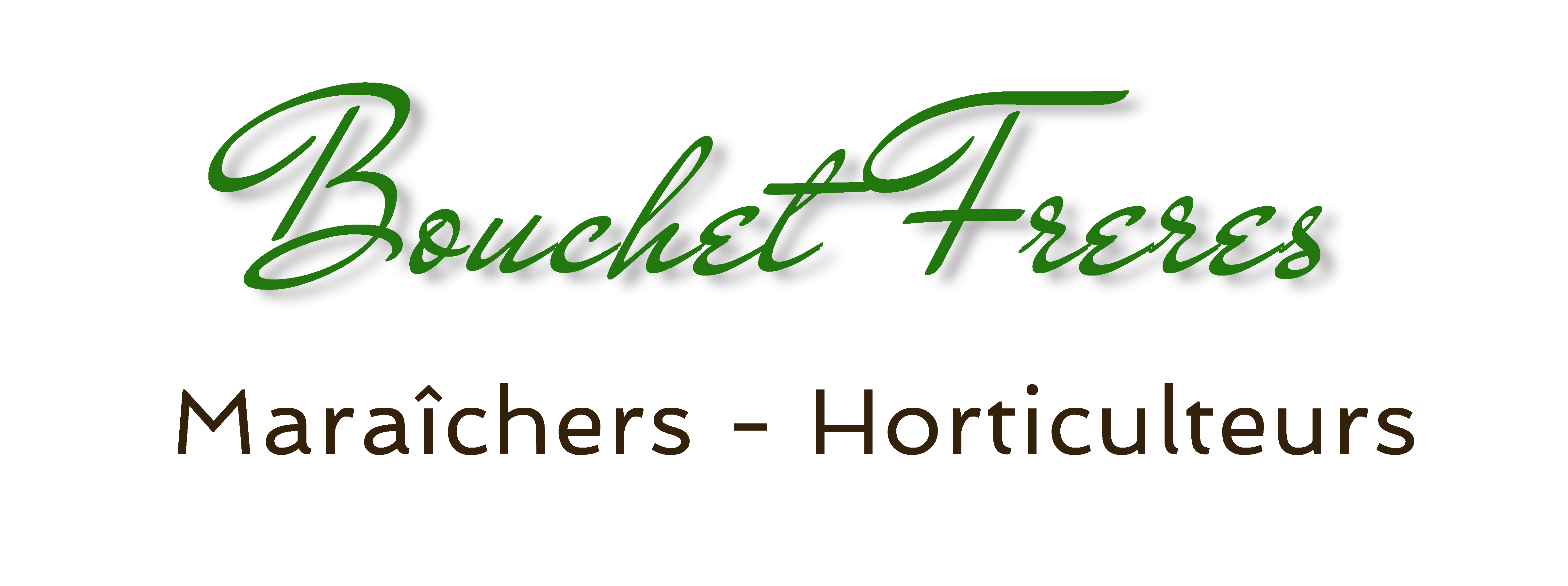 logo Bouchet Freres horticulteur maraicher Cruseilles