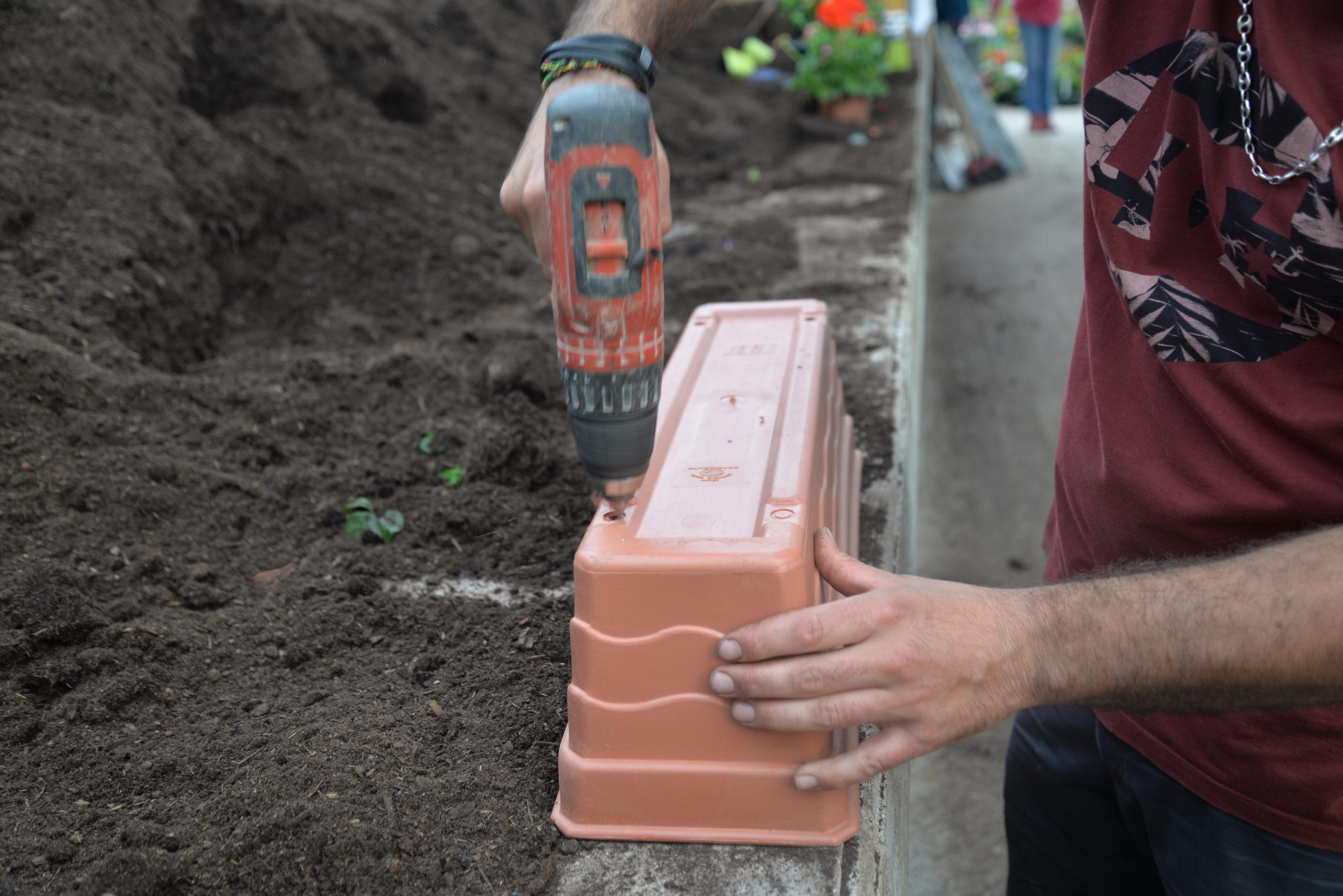 contenants jardinières Bouchet Freres horticulteurs