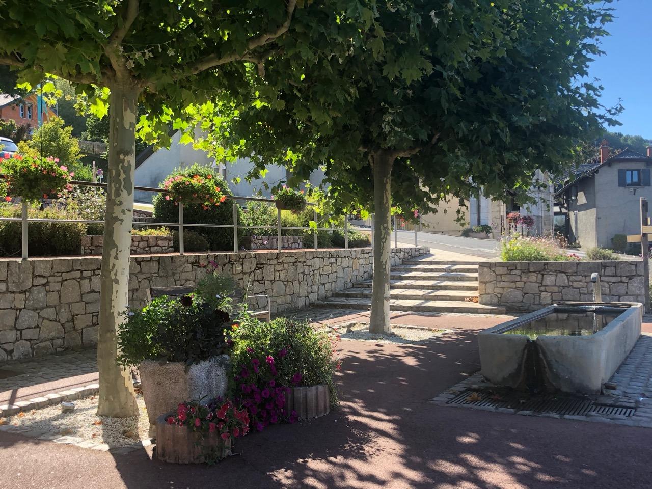 commune Saint Blaise fleurs Bouchet Freres
