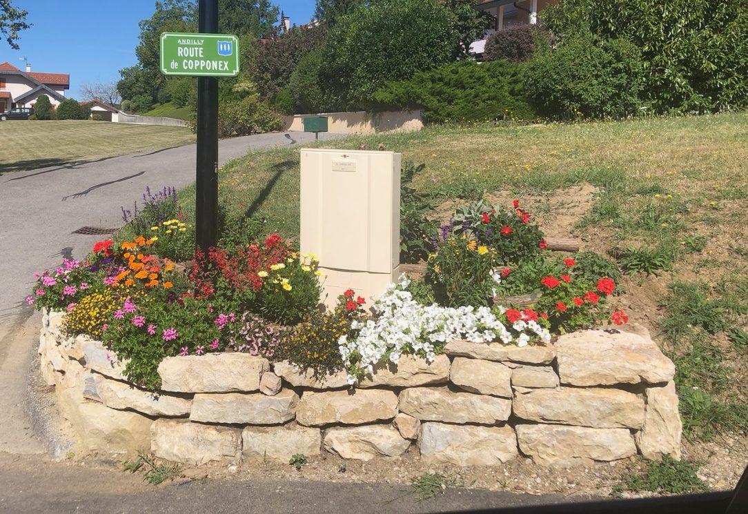commune Andilly fleurs Bouchet Freres