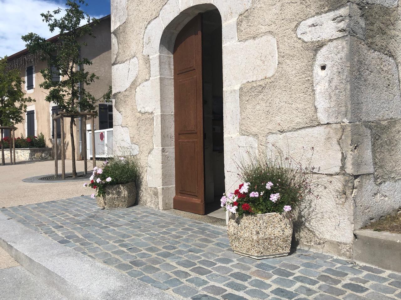 commune Vovray en Bornes fleurs Bouchet Freres