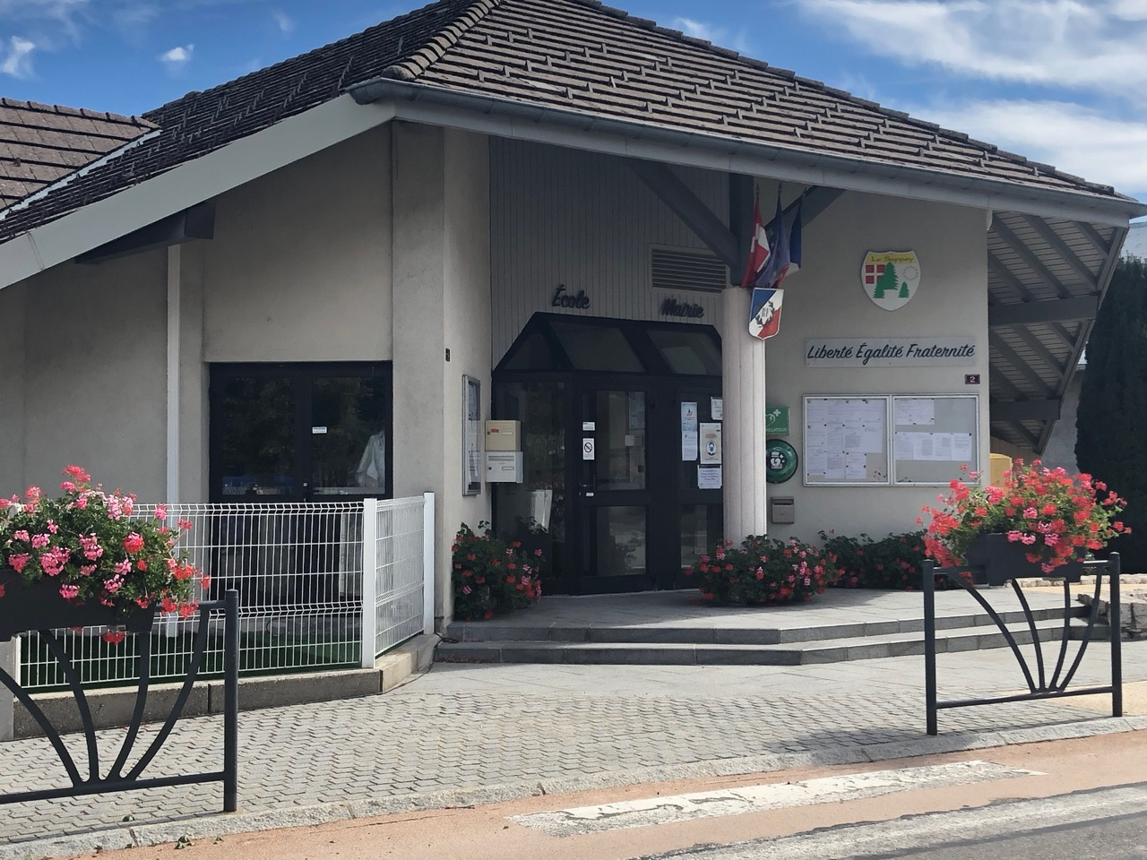 commune Le Sappey fleurs Bouchet Freres