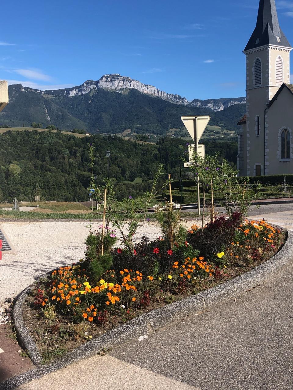 commune Charvonnex fleurs Bouchet Freres