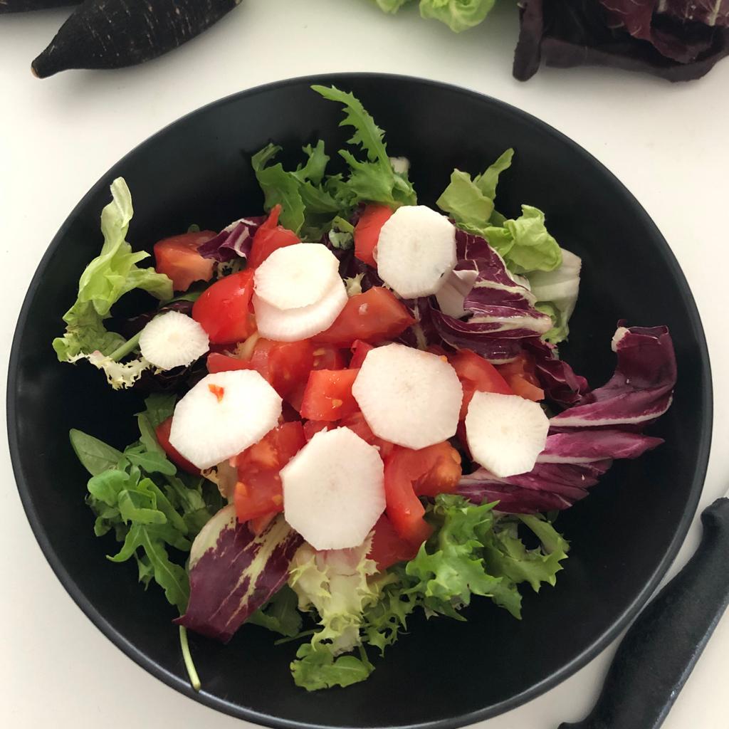 salade radis noir Bouchet Freres maraicher légumes cruseilles producteur local légume